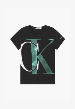 EXPLODED MONOGRAM - T-shirt con stampa - black