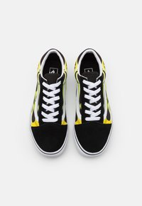 Vans - OLD SKOOL - Trainers - black/true white - 3