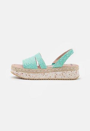 Platform sandals - coralus bermuda
