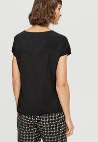 Opus - Basic T-shirt - black - 1