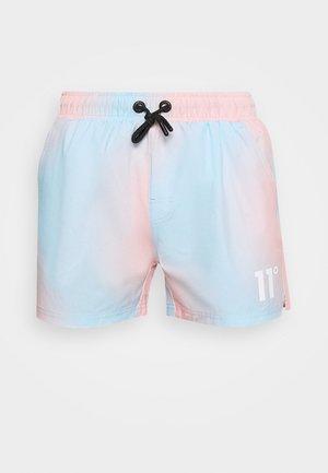 SUNBURST SUBLIMATION  - Shorts - powder blue/peach blush