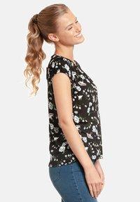 Vive Maria - PARADISE SMOKE - Print T-shirt - schwarz allover - 2