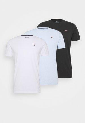 SEASONAL CREW 3 PACK  - Camiseta estampada - blue