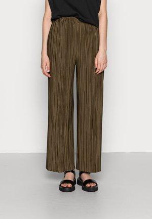 UMA TROUSERS - Trousers - dark olive