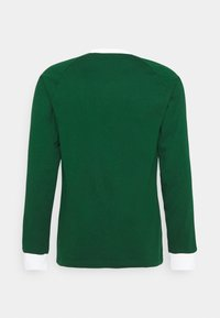 adidas Originals - 3 STRIPES UNISEX - Long sleeved top - dark green - 1