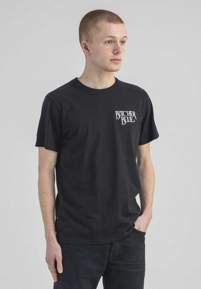 T-shirt print - off black