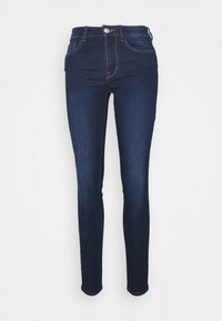 TOM TAILOR DENIM - NELA - Jeans Skinny Fit - used dark stone blue - 6