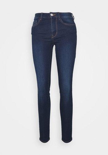 NELA - Jeans Skinny - used dark stone blue