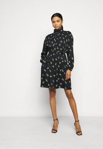RUFFLE FRONT CORA - Shirt dress - daybreak ditsy