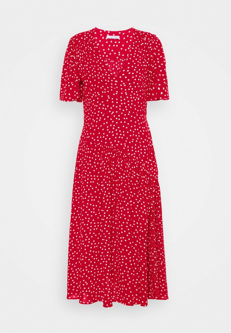iBlues - DECORO 2-IN-1 - Maxi šaty - rosso