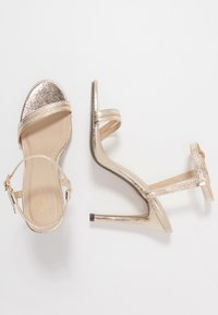 4th & Reckless - RYLEY - High heeled sandals - gold - 4