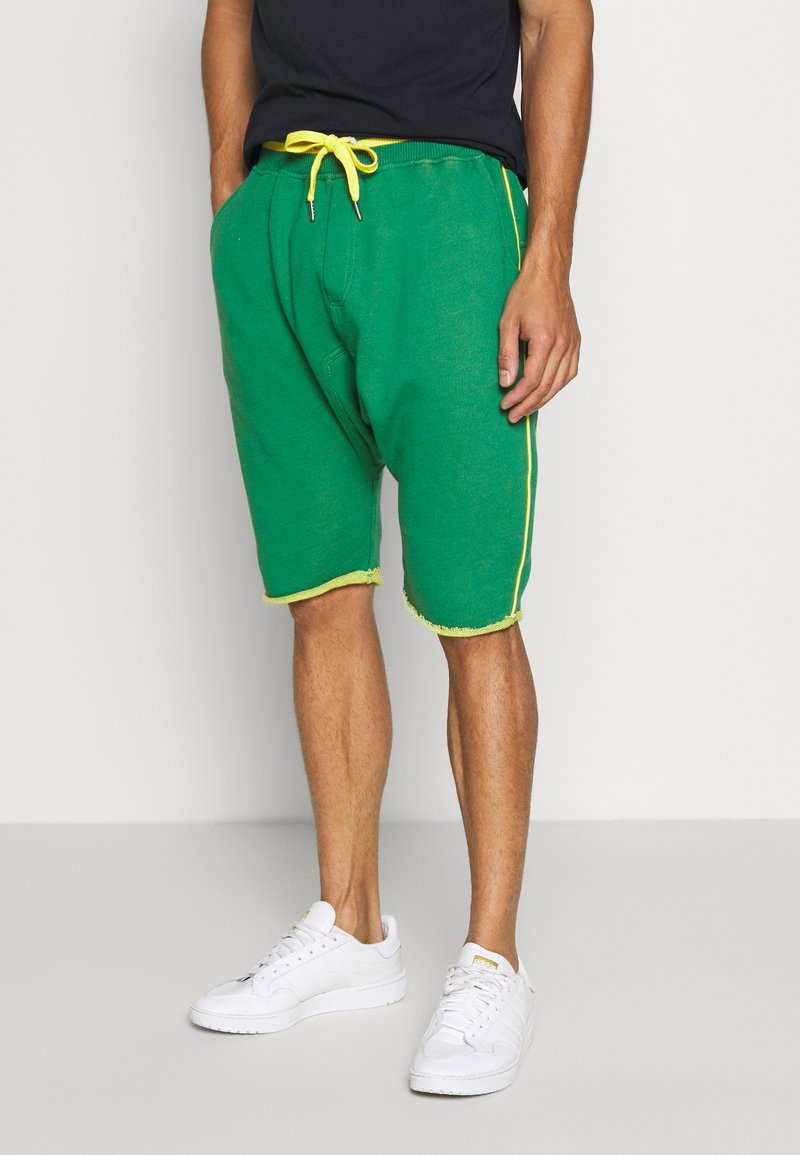 Schott - Shorts - bresil green/yellow