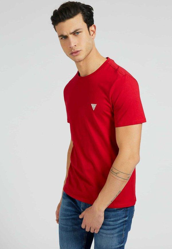 Guess TEE - T-shirt basic - rot/czerwony Odzież Męska CUOM