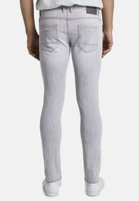 TOM TAILOR - TROY - Slim fit jeans - light stone grey denim - 2