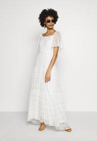NAF NAF - ALMA - Cocktail dress / Party dress - blanc - 1