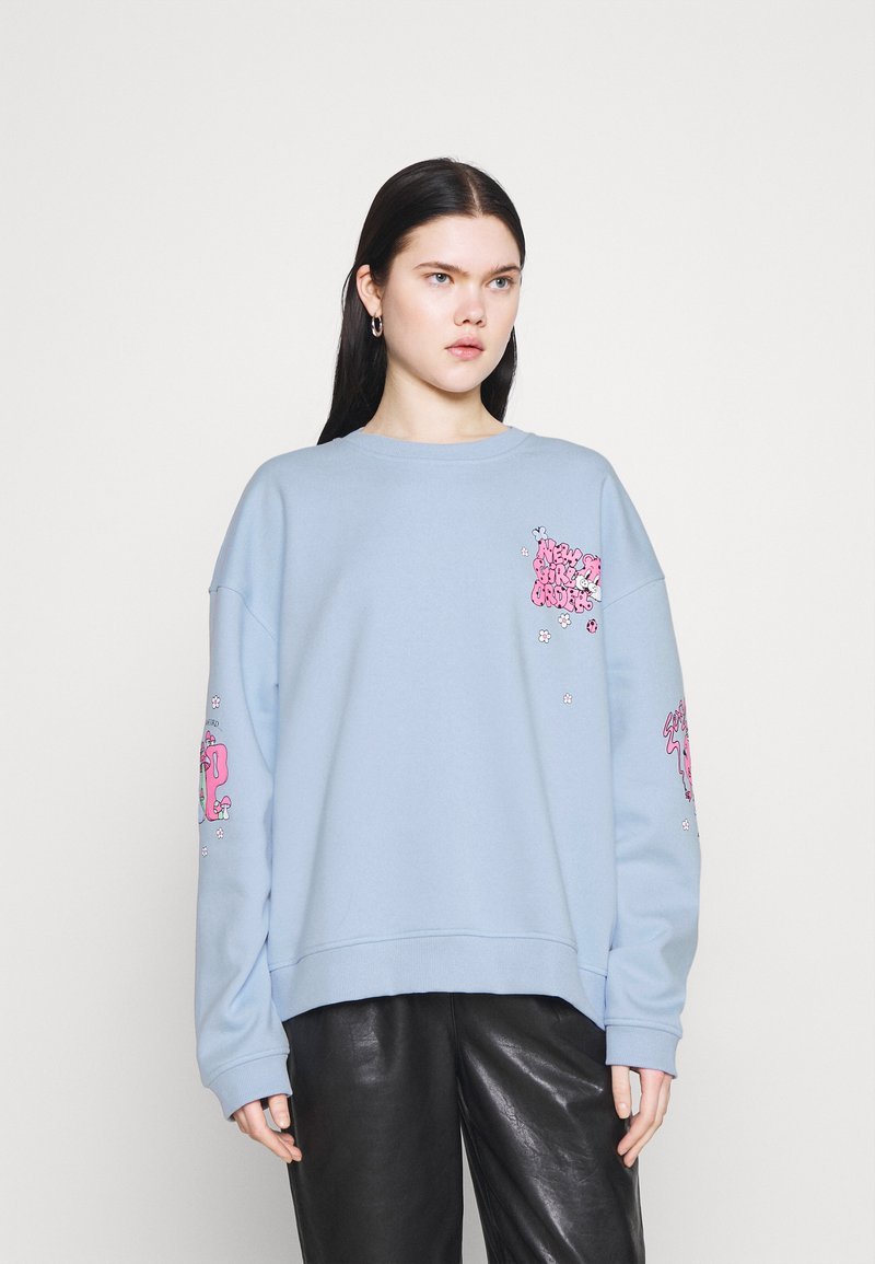 NEW girl ORDER - CHERRY TRIP  - Sweatshirt - blue