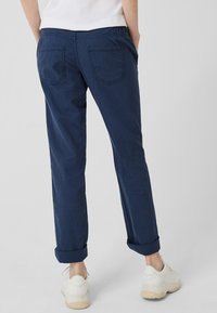 Q/S designed by - Trousers - navy - 2