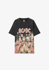 PULL&BEAR - Print T-shirt - black - 5