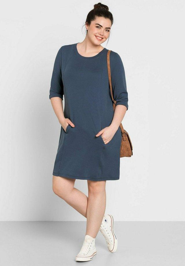 Korte jurk - jeansblau