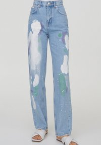 PULL&BEAR - Relaxed fit jeans - blue - 0