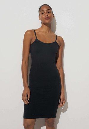 SEAMLESS STRAPPY - Jersey dress - black