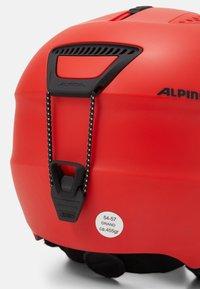 Alpina - Kask - red matt - 8