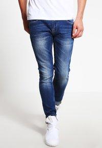 Blend - Slim fit jeans - blue denim - 0