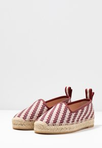 Bally - EDDHIE FLAT - Espadrilky - multicolor/red - 4