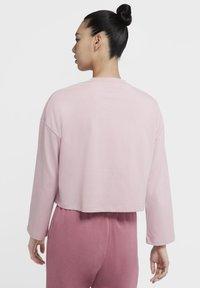 Nike Sportswear - W NSW LS  - Long sleeved top - plum chalk/plum chalk - 2