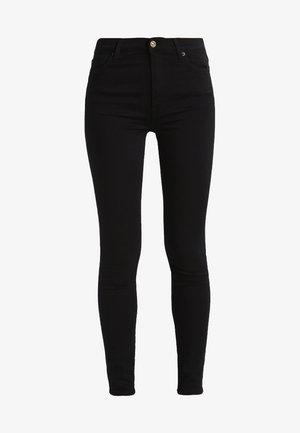 Skinny džíny - illusion rinsed black