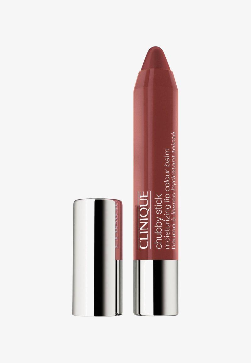 Clinique - CHUBBY STICK MOISTURIZING LIP COLOUR BALM - Lip balm - 10 bountiful blush