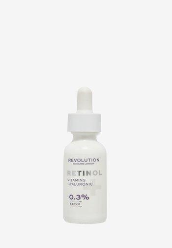 0.3% RETINOL WITH VITAMINS & HYALURONIC ACID - Serum - -
