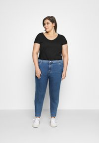 Even&Odd Curvy - Jeans Skinny Fit - blue denim - 1