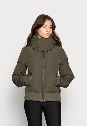 CODE EVEREST - Winter jacket - dark moss