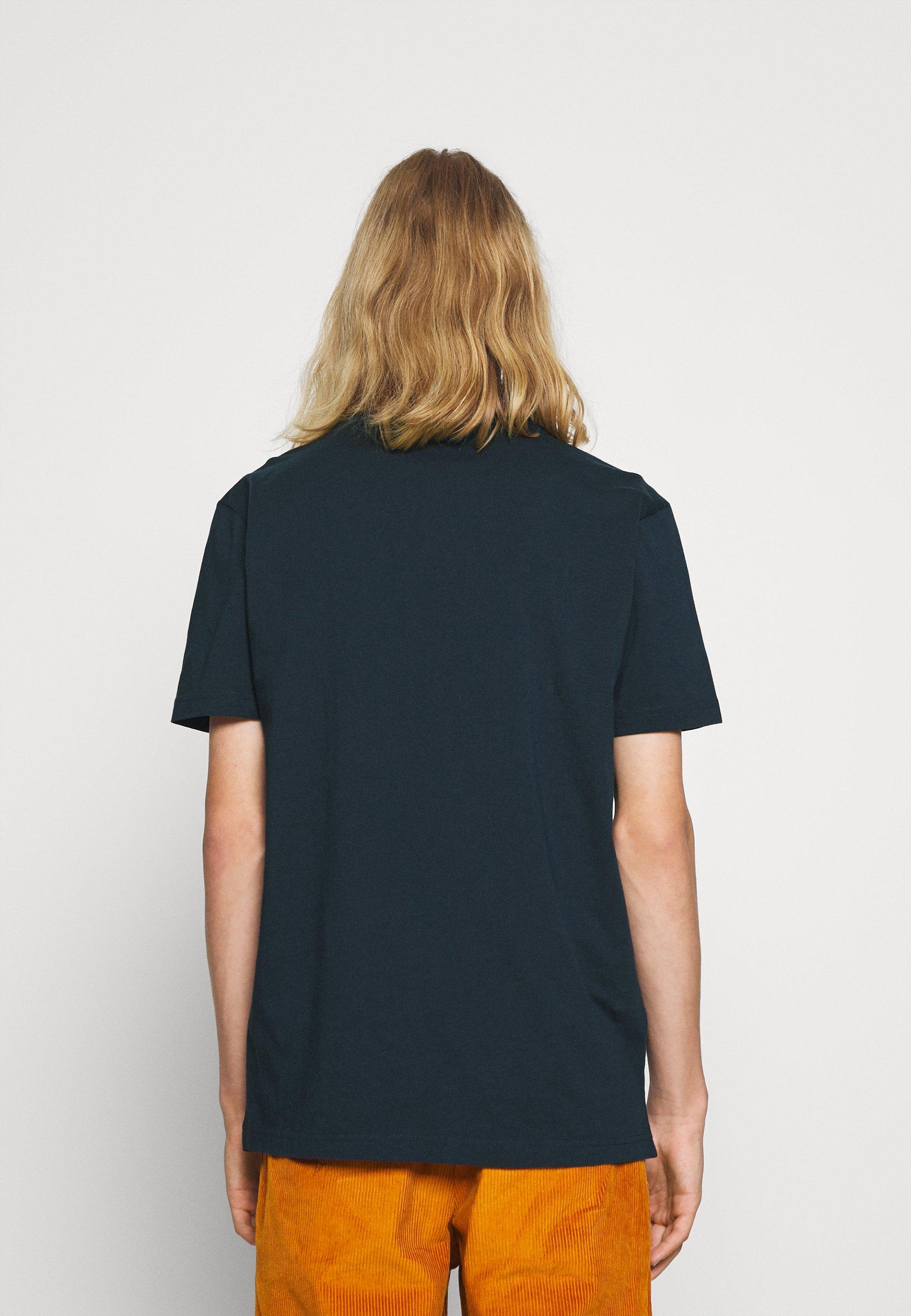 Men ALDER OWL CHEST TEE - Basic T-shirt