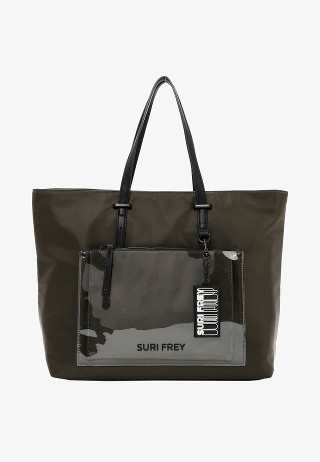 SURI BLACK LABEL TESSY - Shopper - oliv 960