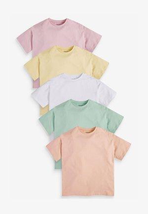 5 PACK  - Basic T-shirt - multi-coloured