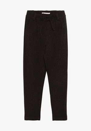KONPOPTRASH LEO PANEL PANT - Trousers - black