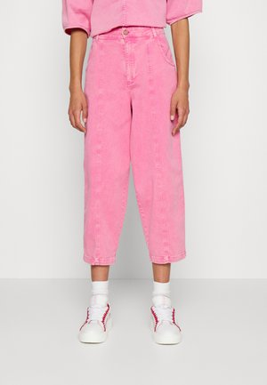 Relaxed fit -farkut - juicy pink