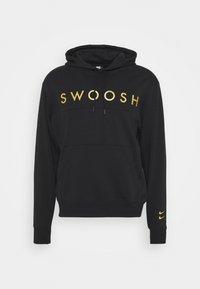 Nike Sportswear - HOODIE - Hoodie - black/gold - 4