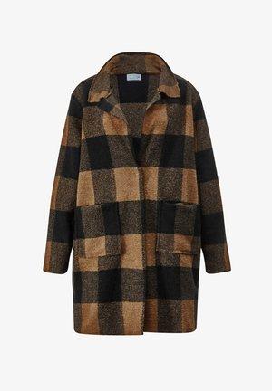 Short coat - haselnuss schwarz