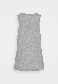 Nike Performance - CITY SLEEK TANK TRAIL - Sports shirt - dark grey heather/silver - 5