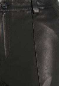 Mos Mosh - Leather trousers - black - 2