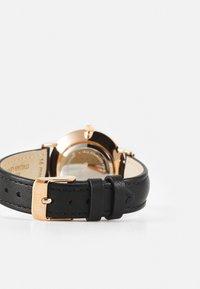 Cluse - MINUIT - Horloge - black/rose gold-coloured - 1