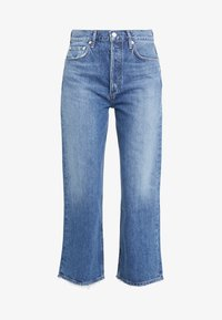 Agolde - REN WIDE LEG - Jeansy Relaxed Fit - blue denim - 4
