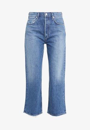 REN WIDE LEG - Relaxed fit jeans - blue denim