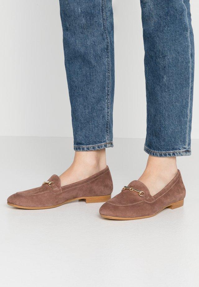 Nazouvací boty - taupe