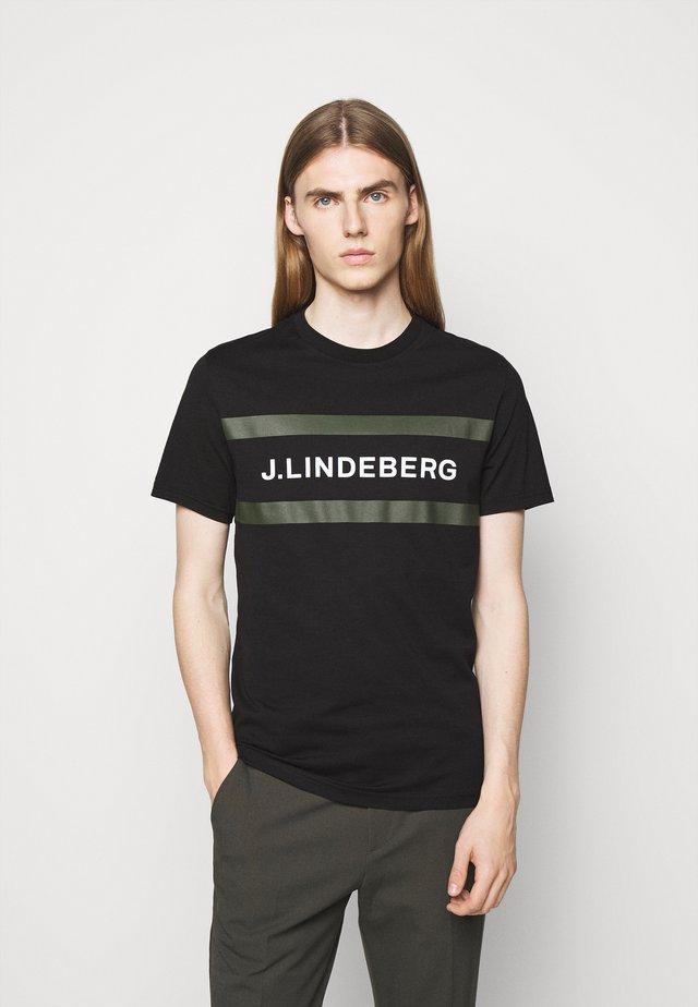 SILO LOGO - T-shirt con stampa - black