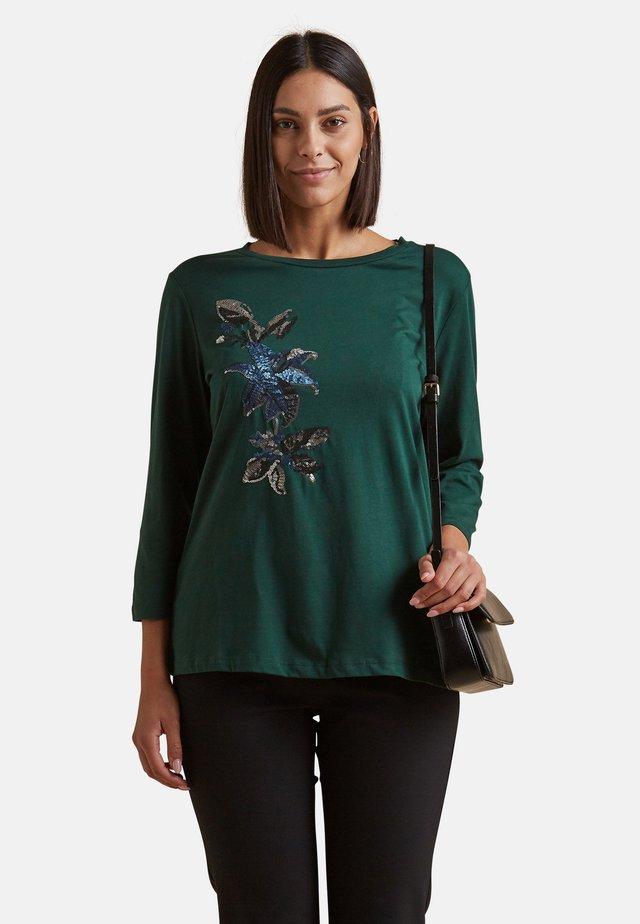 Long sleeved top - verde
