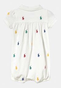 Polo Ralph Lauren - BUBBLE ONE PIECE SHORTALL - Jumpsuit - white - 1